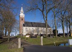 Kerk van Tjamsweer (Jeroen Hillenga) Tags: appingedam groningen netherlands blauwelucht bluesky nederland tjamsweer kerk church