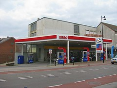 ESSO Petrol Station (streamer020nl) Tags: limburg 250317 2017 25march2017 holland zuidlimburg nederland niederlande netherlands paysbas heuvelland vaals 290317 29march2017 esso mobil synergy benzinestation petrolstation