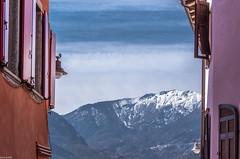 mountain view (zora_schaf) Tags: levicoterme löweneck valsugana trentino italien italia berge mountain bergblick mountainview fassade zoraschaf panarotta