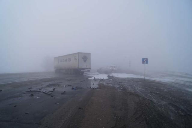 ДТП под Сызранью: После столкновения сфурой сгорела иностранная машина