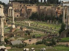 Roma, fori imperiali.