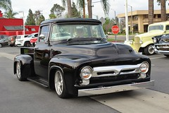 Million Dollar Breakfast Cruise 3-26-17 (USautos98) Tags: 1955 ford pickuptruck hotrod streetrod custom