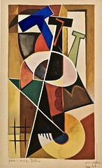 Untitled (1947) - José de Almada Negreiros(1893- 1970) (pedrosimoes7) Tags: josédealmadanegreiros artgalleryandmuseums caloustegulbenkianmuseum moderncollection lisbon portugal creativecommons cc museu musée museum ✩ecoledesbeauxarts✩ masterpiecemansion