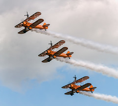 Brightling Wing Walkers (Frodingham Photographer) Tags: royalinternationalairtattoo aircraft airshow wingwalkers brightling riat2016