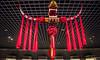 2016 - China - Shanghai - 6 of 34 (Ted's photos - Returns Early June) Tags: 2016 china cropped nikon nikond750 nikonfx shanghai tedmcgrath tedsphotos vignetting shanghaimuseum shanghaichina museum ribbon redribbon red redrule art sculpture