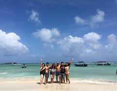 Team completo en Rocky Cay 💓 #DonOsoTrip #DonOsoResidence #paraiso #beach #sanandresisla