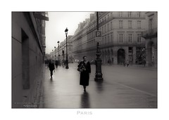Paris n°144 - Rue de Rivoli (Nico Geerlings) Tags: ngimages nicogeerlings nicogeerlingsphotography leicammonochrom 50mm summilux paris parijs france louvre musee museum ruederivoli classic vintage blackandwhite