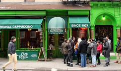 CAFFE REGGIO (Prayitno / Thank you for (12 millions +) view) Tags: konomark first place location invented invent inventor cappuccino caffe cafe reggio greenwich village nyc ny new york city greet coffee shop expreso outdoor original authentic day time shoppe