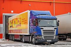 Scania G400 K 739 KX 45 (RUS) (zauralec) Tags: kurgan rioshoppingcenterкурганриоторговыйцентр автомобиль грузовик курган город scania g400 k 739 kx 45 rus