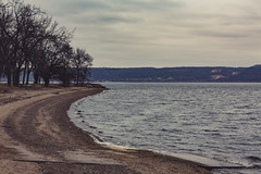 Florence Township Beach on Lake Pepin (Mississippi River), Minnesota (Tony Webster) Tags: florencebeach florencetownship florencetownshipbeach frontenac frontenacstatepark goodhuecounty lakepepin minnesota mississippiriver oldfrontenac wisconsin beach boatlaunch spring statepark unitedstates us