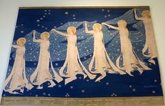 Milchstraße- Milky Way (Anke knipst) Tags: mkg hamburg museum wandteppich nachthimmel sterne stars sky tapestry kunst art