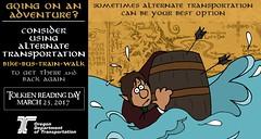 The Hobbit: Barrel Rider (OregonDOT) Tags: tolkienreadingday tolkien socialmedia alternatetransportation modes oregondot oregon