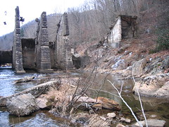 Ruins of the Cane River dam (USFWS/Southeast) Tags: usfishandwildlfieservice cane river dam removal appalachianelktoe
