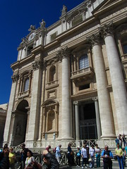May 13, 2013 (the brilliant magpie) Tags: city italy vatican rome roma san italia basilica di stpeter citta pietro