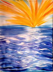 If Grace is An Ocean... (gazellaura) Tags: ocean love me wet water kiss paint heaven shine christ heart god earth jesus grace sparkle reflect loves sloppy