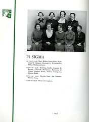 Pi Sigma (Hunter College Archives) Tags: students club 1936 photography yearbook clubs hunter sorority huntercollege studentorganizations organizations sororities studentclubs pisigma wistarion thewistarion