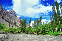 A dark stain on Darkot (IshtiaQ Ahmed revival to Photography) Tags: trees pakistan game history clouds river sad fort great glaciers hayward yasin hundur pamir northernpakistan maduri oxus ghizer thaos hindukush gupis darkot ishtiaqahmed gilgitbaltistan