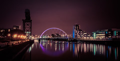 Downtown Lights (Mickdo101) Tags: glasgow olympus urbanlandscape ep3