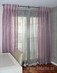 "Cortinas Organza con barra en Salón Comedor • <a style=""font-size:0.8em;"" href=""http://www.flickr.com/photos/67662386@N08/9191891323/"" target=""_blank"">View on Flickr</a>"