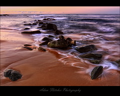 COPA MORNING ROCKS 1 (GTV6FLETCH) Tags: beach rocks copacabana centralcoast sigma1224mm canoneos60d