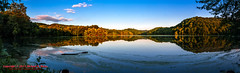 Radnor Lake at Sunset (mikerhicks) Tags: sunset summer landscape geotagged unitedstates nashville hiking tennessee goldenhour radnorlake tennesseestateparks radnorlakestatepark sigma18200mmf3563osdc canon7d radnorlakestatenaturalarea oakhillestates geo:lat=3606313600 geo:lon=8680681341