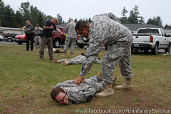 Oh, Zap: MPs train on non-lethal force measures (7th Infantry Division) Tags: infantry soldier washington military seventh combat usarmy bayonet stryker unitedstatesarmy 7thinfdiv icorps 7thid 7thinfantrydivision headquarterssupportcompany jointbaselewismcchord 7id hourglassdivision