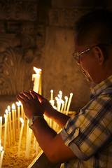 (Caitlin H. Faw) Tags: light shadow portrait man color church canon religi