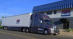 Taking PRIDE in our truck (Jenni Reynolds-Kebler) Tags: transport pride transportation coronado trucking peterbilt cascadia kenworth freightliner t680 pridetransport