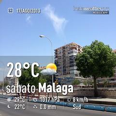 #weather #instaweather #instaweatherpro  #sky #outdoors #nature #world #malaga #spagna #day #summer #es (Fatabugiarda) Tags: trip valencia square spain bcn squareformat alhambra granada cordoba mojito alcazar mezquita malaga barcellona tarragona vacanze spagna tarifa albaicin castellar siviglia albaizin aguadevalencia gibilterra ss13 ababi iphoneography instagramapp uploaded:by=instagram foursquare:venue=4e201145d4c0d32590e04fbc siamostatibenebao