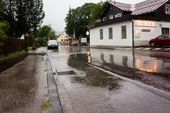Weather Report (martinstelbrink) Tags: street wet rain germany bavaria strasse gr ricoh ricohgr regen nass allgu bayer fischen ricohgrv mygr