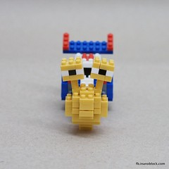 nanoblock Turbo (inanoblock) Tags: cute movie lego bricks snail turbo instructions blocks build nanoblock ナノブロック nanoblocks