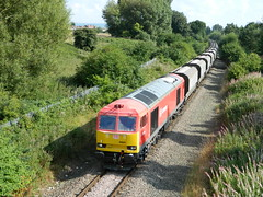 DUSTY TUG (37686) Tags: lime loaded oakleigh cheadle tunstead 60024 dbschenker 6f05 26082013