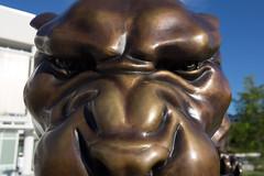 Bronze Panther (fiu) Tags: statue bronze campus university florida miami international em panther fiu 2013