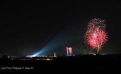 Creamfields Closing Night Fireworks (Sunday) (Glyn Owen Photography & Image-Art) Tags: music festival lights warrington fireworks stage main explosion rave closing creamfields