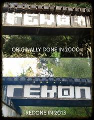 THEN & NOW (OLDER SC COUNTY GRAFFITI) Tags: santa county sc ga graffiti am cal cruz and then graff gac now nor anonymous bbb 831 krew amk krue rekon graffaholicz