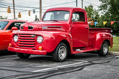 WestervilleComm_0094 (Muncybr) Tags: ford 1948 pickup f1 oh westerville carshow rickdickinson brianmuncy photographedbybrianmuncy westervillecommunityunitedchurchofchrist