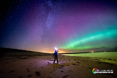 Aurora 8-10-13 lenser (Colin Cameron ~ Photography ~) Tags: scotland northernlights isleoflewis stornoway auroraborialis samyang14mmf28 canon5dmark3 colincameronphotography potd:country=gb
