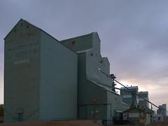 Warner Alberta Grain Elevator