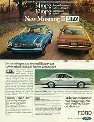 1975 Ford Mustang II MPG Hardtop and MPG 2+2 Fastback (coconv) Tags: pictures auto old classic cars ford hardtop car vintage magazine ads advertising cards 22 photo flyer automobile post image photos antique postcard ad picture images advertisement vehicles photographs card photograph ii postcards 1975 vehicle autos mustang collectible collectors brochure mpg automobiles ghia dealer fastback prestige