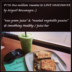 | no.116 | | Something Healthy / juice bar | (onemillionreasonstolovevancouver) Tags: world city people food tourism home promotion vancouver cool realestate profile lifestyle today l4l vancity downtownvancouver metrovancouver onemillion cityofvancouver vancouverite vancouvercity rawjuice vancouvertourism vancouverrealestate vanone awesomevancouver instaphoto instagood somethinghealthy instafollow uploaded:by=flickrmobile flickriosapp:filter=nofilter miguelboccanegra thegreatervancouverarea