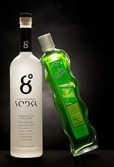 Vodka and Apple (Keith Hardy) Tags: bottle liquor product 100mmmacro productphotography canon5dmk3