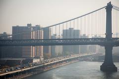 friday morning @ FDR drive (grapfapan) Tags: nyc newyorkcity morning traffic manhattan manhattanbridge dust flickrandroidapp:filter=none
