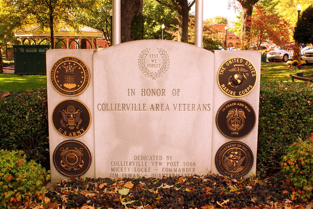 Collierville Veterans Memorial