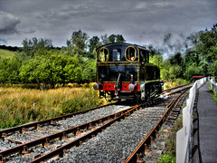 steam train (seanfderry-studenna) Tags: old ireland irish signs art clock tourism window station museum train vintage tickets photo coach track carriage time seat volunteers great transport traintracks engine machine tram rail railway steam southern repair vehicle locomotive aged caravan baggage northern railways chariot steamengine attraction repairs steamtrain ruined ulster fineartphotography countydown enthusiasts eireann fourgon downpatrick inchabbey trouist steamtrainphotos {vision}:{mountain}=0575 {vision}:{sky}=0561 {vision}:{outdoor}=0936 steamtrainimages