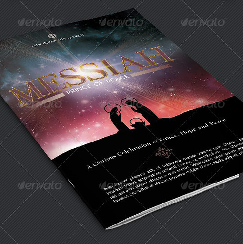 Messiah Christmas Cantata Program Template