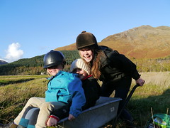 15. Under16s People RunnerUp - Horsing Around, Knoydart. Kira Holroyd (age 15)