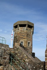 Tower (lazy south's travels) Tags: castle history observation island islands post nazi lookout jersey historical channel battlement gorey occupation
