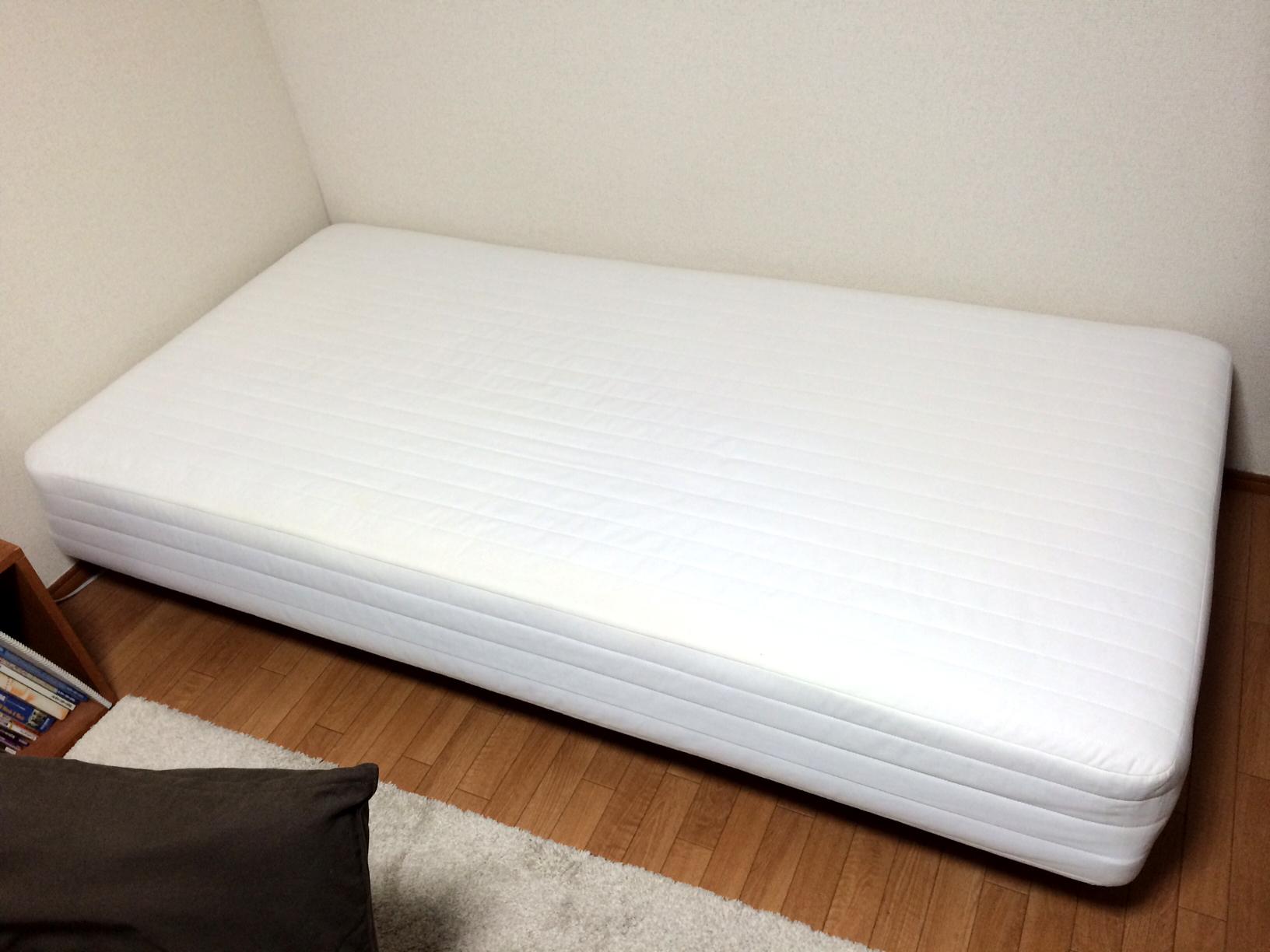 東京都豊島区】無印良品 / 脚付マットレス / シングルベッド あげます