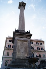 Obelisco de Santa Maria la Mayor (Roma) (BeaUsero) Tags: city urban classic monument monumento ciudad urbano column columna clásico arteromano humangeography relieveromano geografíahumana