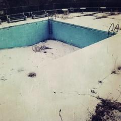 Dreams of summers past (kyuboem) Tags: swimmingpool abandonned hipstamatic yoonalens blankofilm